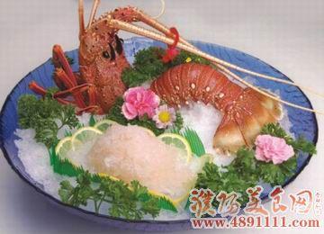 澳洲龙虾刺身