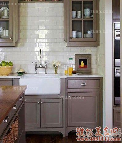 厨房颜色装饰效果图