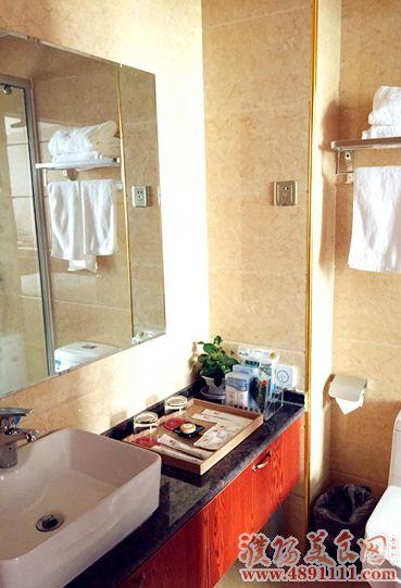 乾佑国际酒店:洗手间-乾佑酒店朋友圈集赞免费入住酒店活动开始了